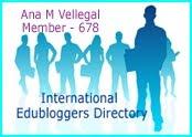 Miembro de Edubloggers Internacional.