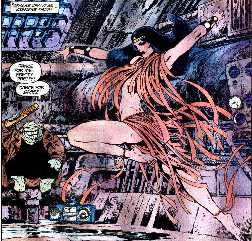 Big Barda: Momento controversial en los comics Byrne6