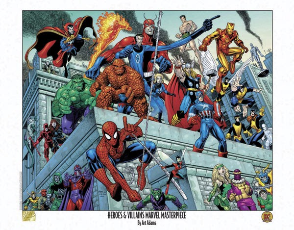 Superheroes Whose First And Last Name Start With Same Letter