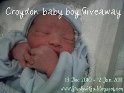 Croydon Baby Boy Giveaway
