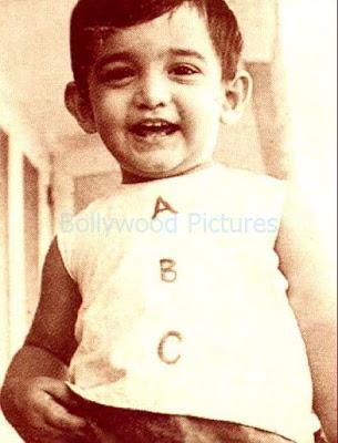 aamir khan childhood picture
