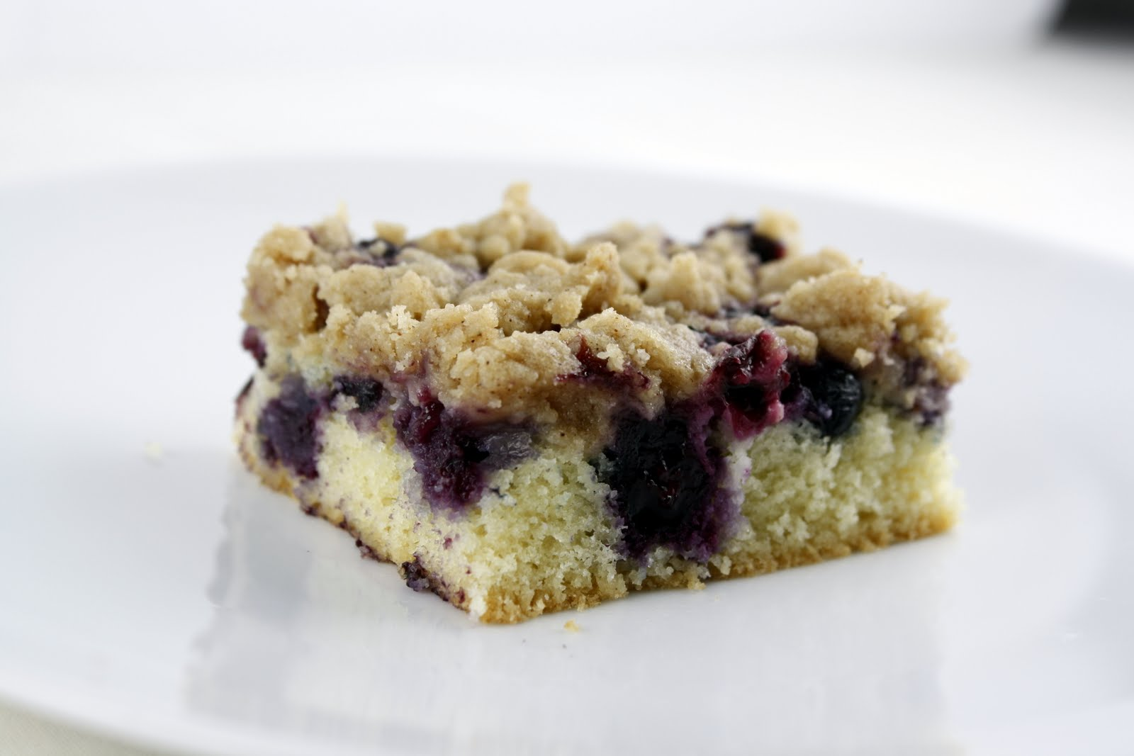 Blueberry (Black Raspberry) Crumb Cake | What Megan's Making