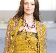 Chanel Resort 2011 with Crystal Renn