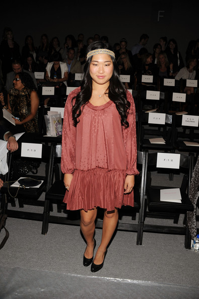 Jenna Ushkowitz Attends The Rebecca Taylor Spring 2011 Fashion Show