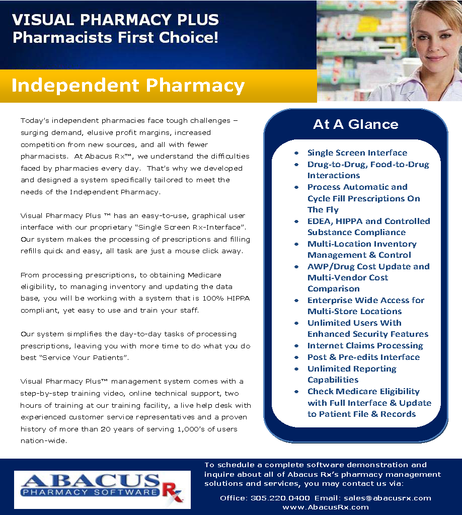 Visual pharmacy plus visual pharmacy plus brochure for Pharmacy brochure template free