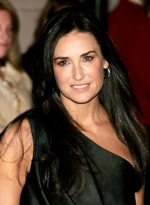 Demi Moore denies plastic surgery rumors about anything