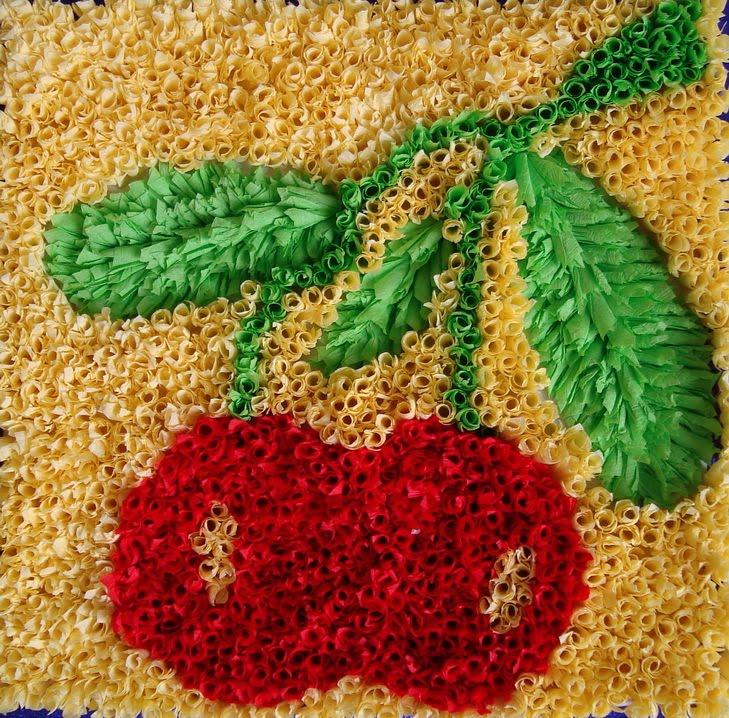 Поделка для детей ягоды 28