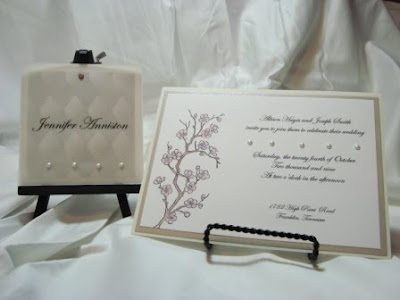 Invite and Coordinating Placecard