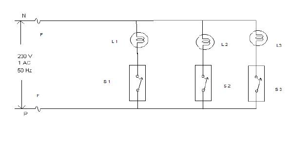 Residential House Wiring Using Switches  Fuse  Indicator