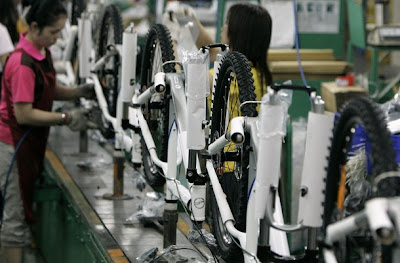 Giant Bicycle Archive on An Assembly Line At Giant Bicycle S Factory In Taichung  Taiwan