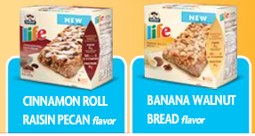 Free Sample of Quaker Life Soft Baked Bars (Walmart)