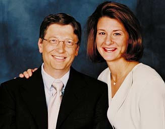 BILL GATES & LINDA