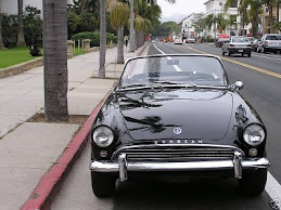 sunbeam Alpine black II 1962