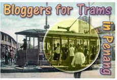 Trams for Penang