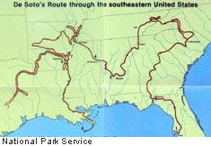 De Soto's Route