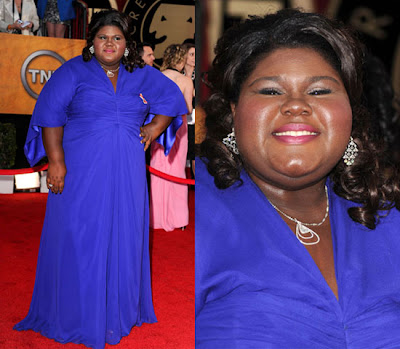 Gabby Sidibe Sag Awards 2010