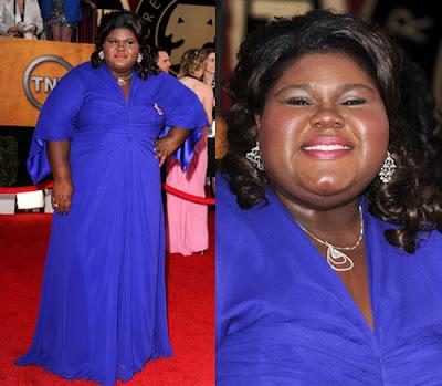 Gabby Sidibe Sag Awards 2010