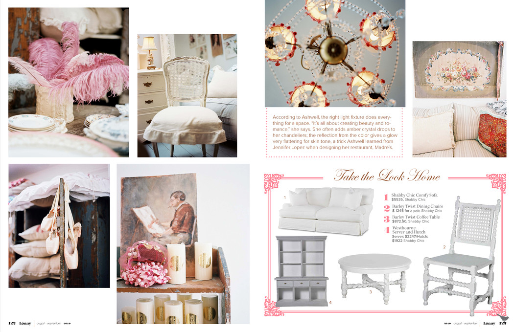 You love pink rachel ashwell shabby chic interior design Rachel ashwell interiors