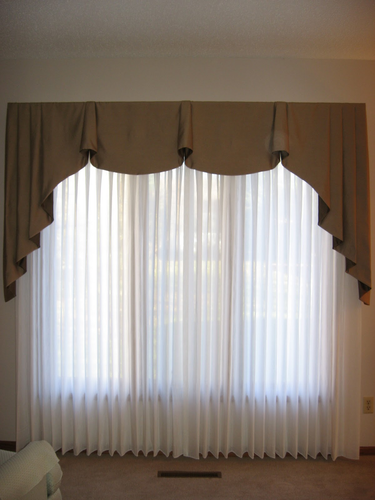 Pleated Sheer Curtains Window Treatments Macy's Curtains Window Treat