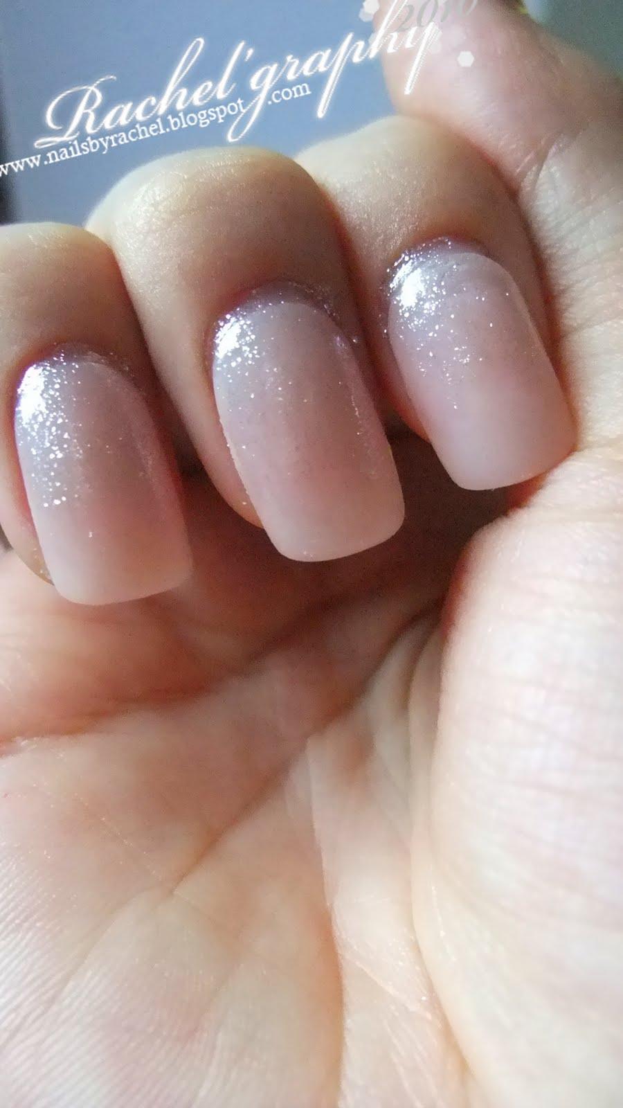Light Pink Glitter Nail Polish Nails With Glitter Polish