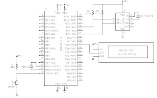 Digital Clock using RTC chip (DS1307) and PIC16F887