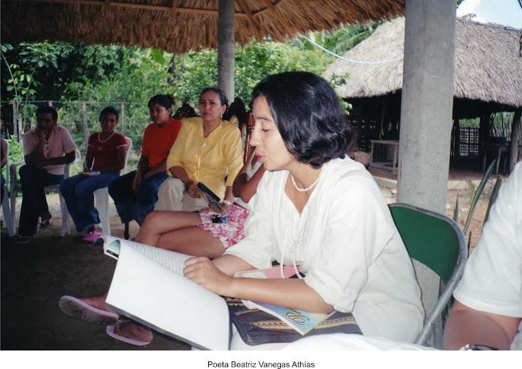 Poeta Beatriz Vanegas Athías, Casas de poesía, Cereté 2006
