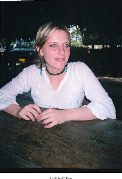 Poeta Andrea Cote Botero, Cereté 2006