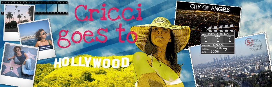 Cricci goes to Hollywood!