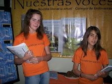 """""""Nuestras voces"""", revista literaria editada por el Colegio de Urdinarrain."""