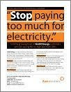 Say No To High Gas And Electricity Bills