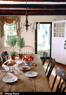 Home interior design style guide new england farmhouse for New england dining room ideas