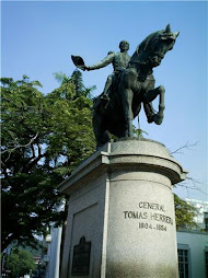 estatua del gral.tomàs herrera