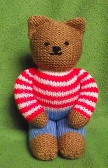 Free Designer Knitting Patterns : The Nutty Knitters blog: Teddies for Tragedies