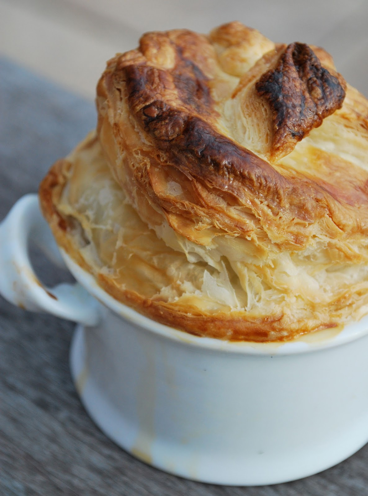 puff pastry tart brown sugar and walnut puff pastry swirls chicken pot ...