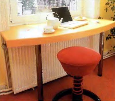 Как планировать стол с подокоником