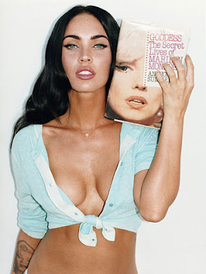 Megan Fox gets inspiration from her Marilyn Monroe tattoo.