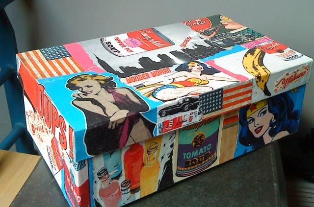 le pop art est dans la bo te valy 39 s blog. Black Bedroom Furniture Sets. Home Design Ideas