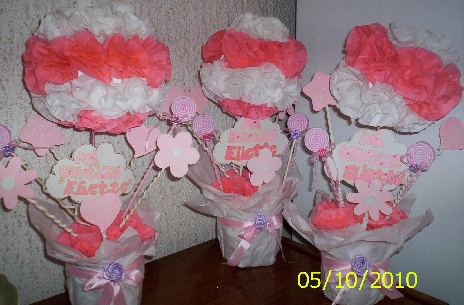 De Noviembre De 2010 Etiquetas Centro De Mesa Bautizo Nina