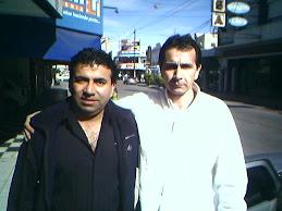 Con Jorge Trejo