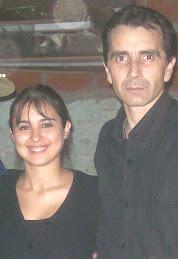 Con Gisela Pineda