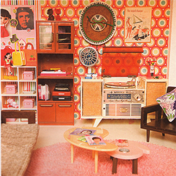 Dollhouse Kitchen Wallpaper: The Bowerbird: I Want This Dolls House