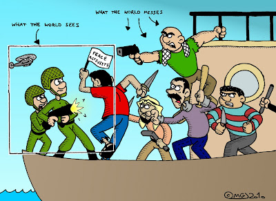 gaza flotilla raid mavi marmara israeli idf soldiers attacked by ihh terrorists