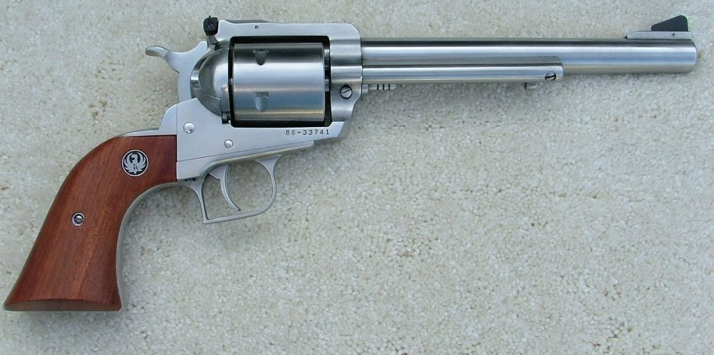 44 magnum rifle ruger. I also like the .44 mag