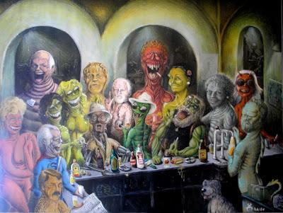 it is a Star Wars Bar Scene