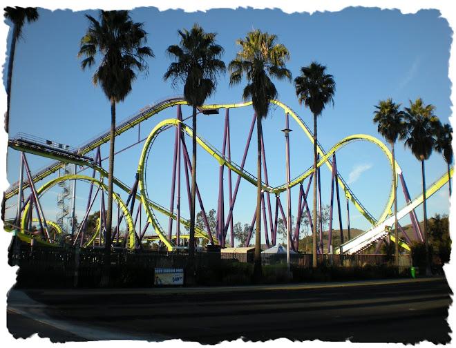 medusa cel mai mare rollercoaster in parc der grosste rollercoaster din parc