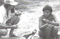Rute Colares e André Ruschi