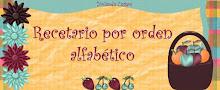 RECETARIO ORDEN ALFABETICO