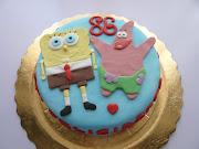 Esta es la segunda tarta que prepare para el cumpleaños de mi abuelita, .