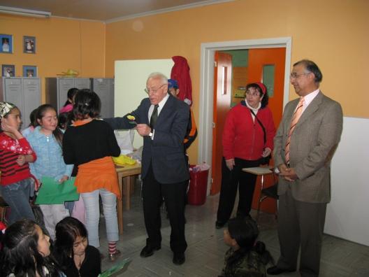 Visita del Alcalde y Autoridades a los Talleres