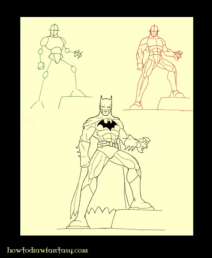 how to draw dc comics